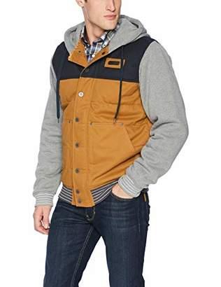 Cinch Men's Canvas Hoodie Vest