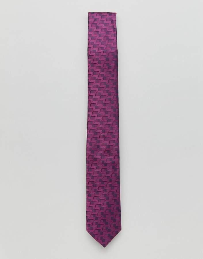 Burton Menswear – Rosa Krawatte
