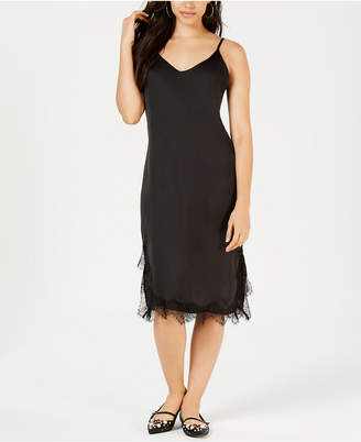 Project 28 Nyc Lace-Trim Slip Dress