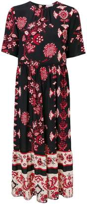 RED Valentino printed midi dress