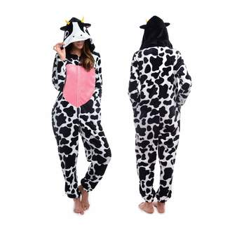 Body Candy Women's Cute Animal Hooded Plush Onesie Critters
