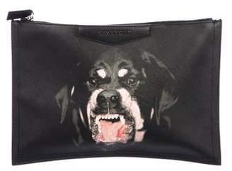 Givenchy Antigona Rottweiler Clutch