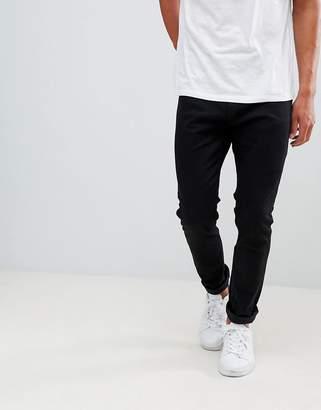Bershka Skinny Jeans In Black