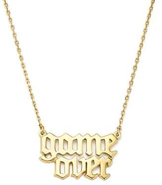 """Bing Bang NYC Game Over Necklace, 16"""" - 100% Exclusive"""