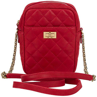 One Kings Lane Vintage Chanel Red Reissue Cross-Body Bag - Vintage Lux