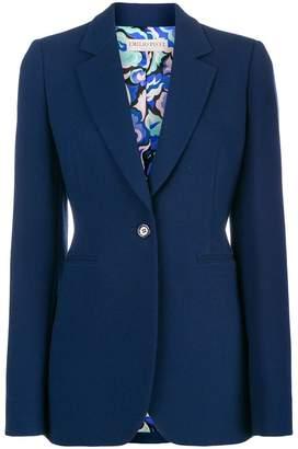 Emilio Pucci classic fitted blazer