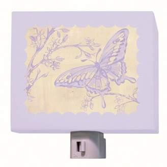 Oopsy Daisy Fine Art For Kids Toile Butterfly Night Light