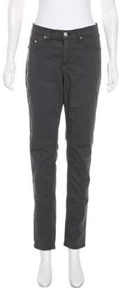 Rag & Bone Mid-Rise Straight-Leg Pants