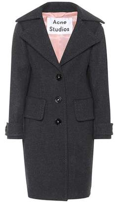 Acne Studios Cherl T Melton wool coat