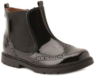 Start Rite Startrite Start-rite - Girls' Black Patent Leather 'Chelsea' Ankle Boots