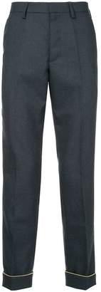 Kolor straight-leg tailored trousers