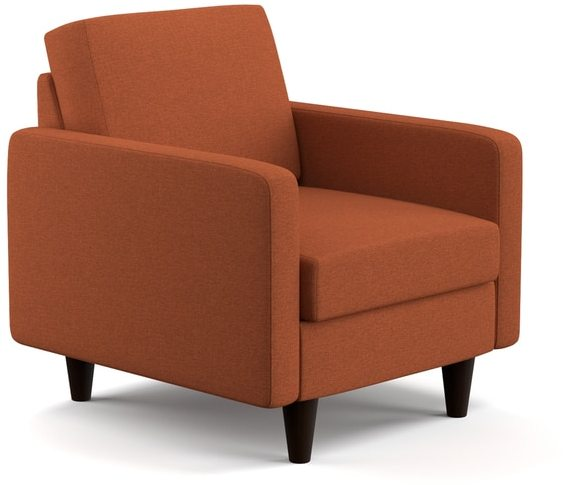 Portfolio Luca Orange Linen SoFast Chair