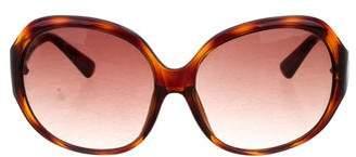 MICHAEL Michael Kors Tortoiseshell Round Sunglasses