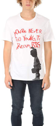 Eleven Paris Elevenparis Banksy Dream Big Tee
