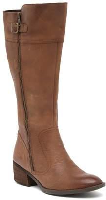 Børn Fannar Wide Calf Leather Knee High Boot