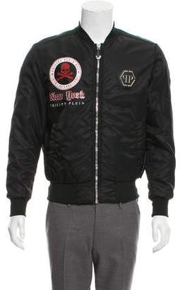 Philipp Plein Graphic Bomber Jacket