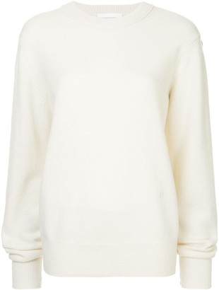 Helmut Lang ring crewneck jumper