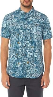 O'Neill Short Sleeve Print Camp Shirt