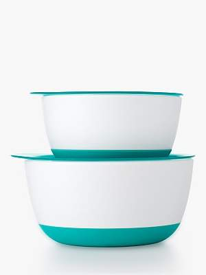 OXO Tot Large and Small Bowl Set, Teal