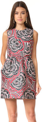 RED Valentino Patterned Dress $675 thestylecure.com
