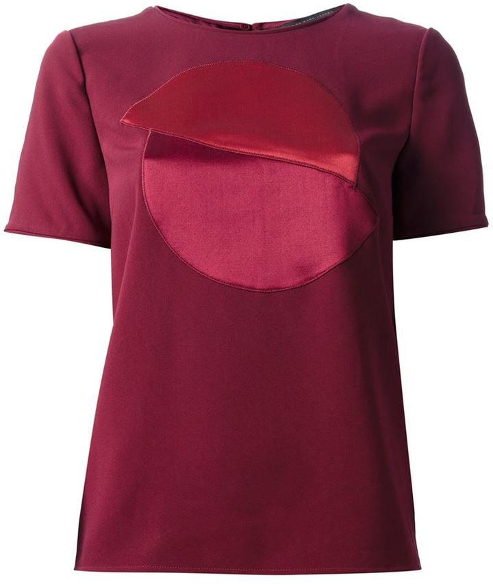 Marc by Marc Jacobs 'Sparks' crepe t-shirt