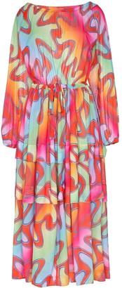 Molly Goddard Printed Maxi Dress