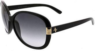 ADRIENNE VITTADINI Adrienne Vittadini Full Frame Round Sunglasses $42 thestylecure.com