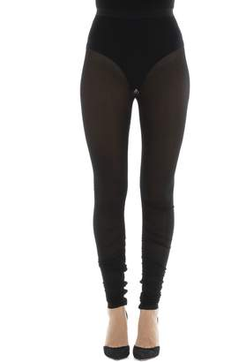Isabel Marant Black Viscose Leggings