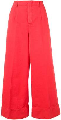 Incotex flare styled trousers