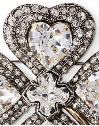 Lanvin Cosmic Clover Brooch/Necklace