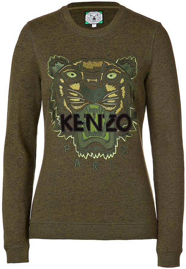 Kenzo Logo Statement Sweatshirt