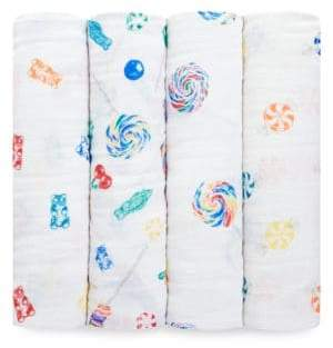 Aden Anais aden + anais Baby's Dylan's Candy Bar Four-Pack Classic Swaddle