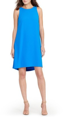 Women's Lauren Ralph Lauren Crepe Swing Dress $145 thestylecure.com