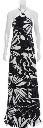 Kaufman Franco KAUFMANFRANCO Embellished Evening Dress w/ Tags
