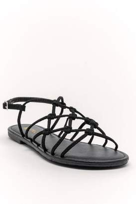 Restricted Lolita Sandal - Black