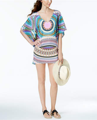 Bar III Sunburst Caftan Cover-Up, Created for Macy's Women's Swimsuit