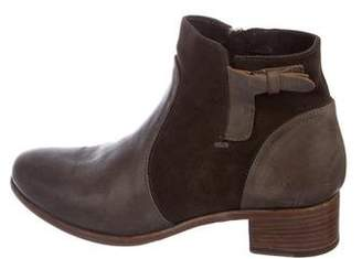 Alberto Fermani Viola Leather Ankle Boots