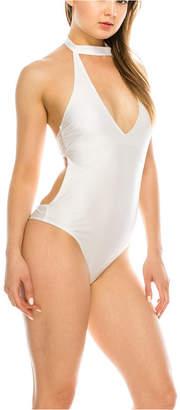KENDALL + KYLIE Turtle Neck 1 Piece Swimsuit Women Swimsuit