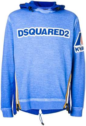 DSQUARED2 K-way logo sweatshirt