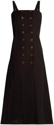 MONICA ALBUS LUMEN linen dress