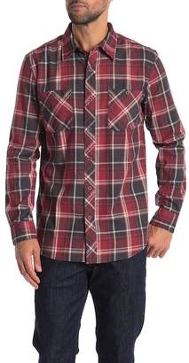 Weatherproof Plaid Regular Fit Shirt