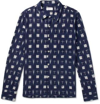 Universal Works Garage Ikat Cotton Shirt