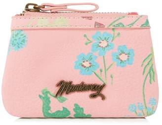 Mantaray Pink Floral Print Coin Purse