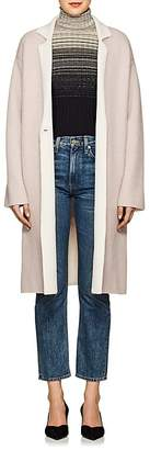 Giorgio Armani Women's Double-Faced Cashmere-Blend Coat