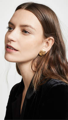 Chanel What Goes Around Comes Around Small Paris Oval Earrings
