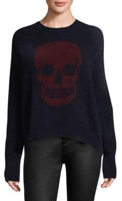 360 Cashmere Natalie Skull Sweater