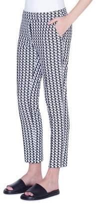 Akris Punto Frankie Soundboard-Pattern Jersey Pants