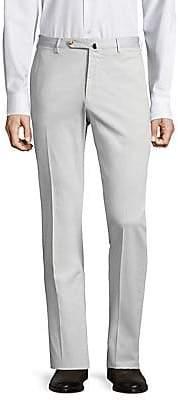 Incotex Men's Slim-Fit Linen-Blend Pants
