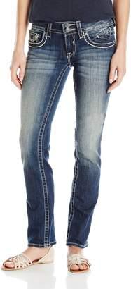Vigoss Women's Straight Chelsea Leg Jean