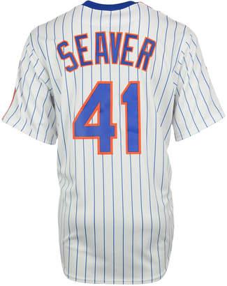 Majestic Men Tom Seaver New York Mets Cooperstown Replica Jersey